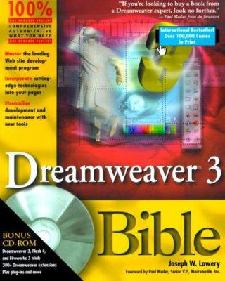 Cover image for Dreamweaver 3 Bible