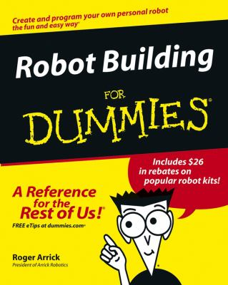 Cover image for Robot building for dummies