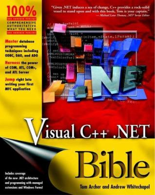 Cover image for Visual C++ .NET bible