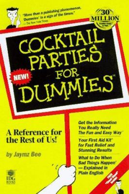 Cover image for Cocktail parties for dummies