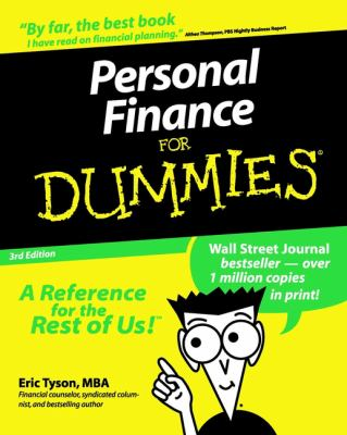 Cover image for Personal finance for dummies