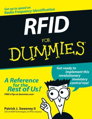 Cover image for RFID for dummies