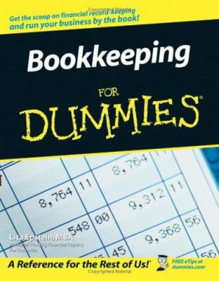 Cover image for Bookkeeping for dummies