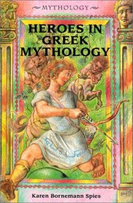 Cover image for Heroes in Greek mythology