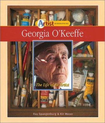 Cover image for Georgia O'Keeffe : the life of an artist