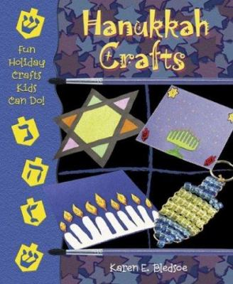 Cover image for Hanukkah crafts