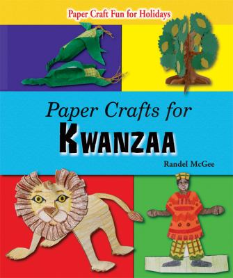 Cover image for Paper crafts for Kwanzaa