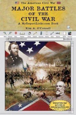 Cover image for Major battles of the Civil War