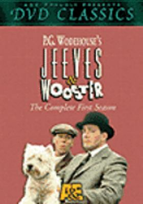 Cover image for Jeeves & Wooster. The complete first season