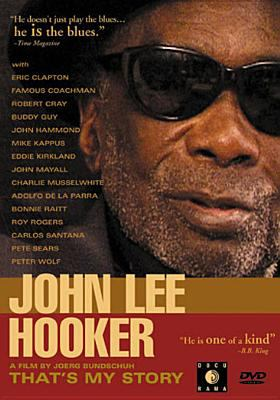 Cover image for John Lee Hooker that's my story