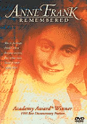 Cover image for Anne Frank remembered