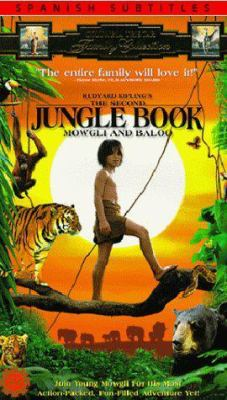Cover image for Rudyard Kipling's the Second jungle book Mowgli & Baloo