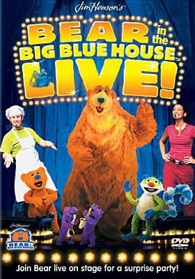Cover image for Bear in the Big Blue House live