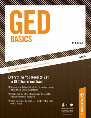 Cover image for GED basics.