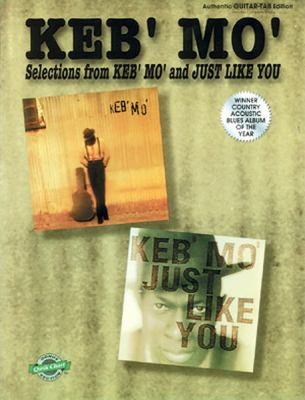 Cover image for Keb' Mo' : selections from Keb' Mo' and Just like you