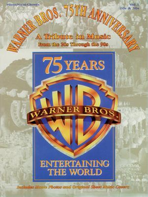 Cover image for Warner Bros. 75th anniversary : a tribute in music : from the 20s through the 90s.