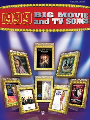 Cover image for 1999 big movie and TV songs