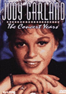 Cover image for Judy Garland the concert years