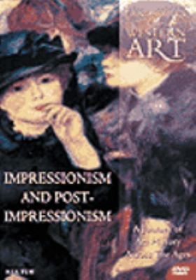 Cover image for Landmarks of western art a journey of art history across the ages. Impressionism and post-impressionism