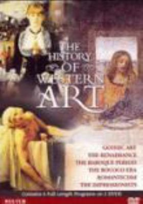 Cover image for The history of Western art