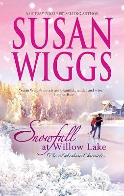 Cover image for Snowfall at Willow Lake