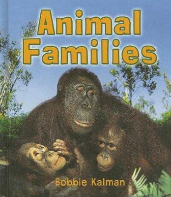 Cover image for Animal families