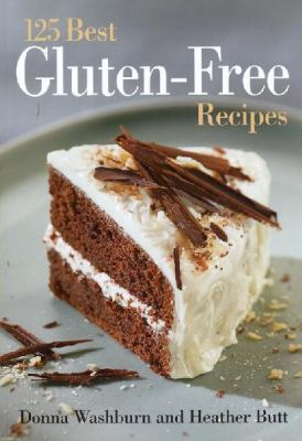 Cover image for 125 best gluten-free recipes
