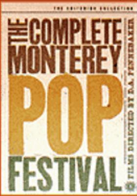 Cover image for The complete Monterey Pop Festival