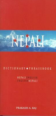 Cover image for Nepali-English, English-Nepali dictionary & phrasebook