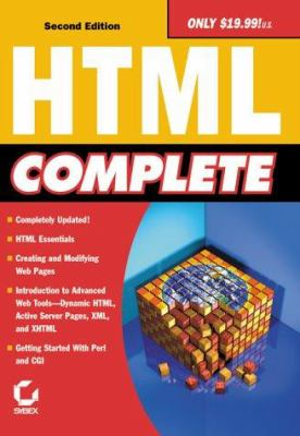 Cover image for HTML complete.
