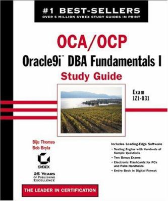 Cover image for OCA/OCP : Oracle9i DBA fundamentals I study guide