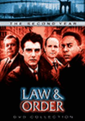 Cover image for Law & order. The second year