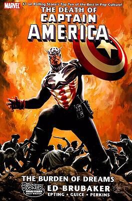 Cover image for The death of Captain America. Vol. 2, The burden of dreams