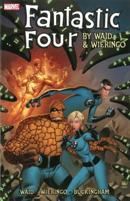 Cover image for Fantastic Four by Waid & Wieringo