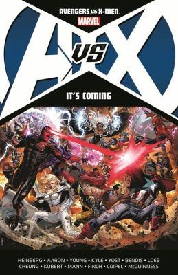Cover image for Avengers vs. X-men. It's coming
