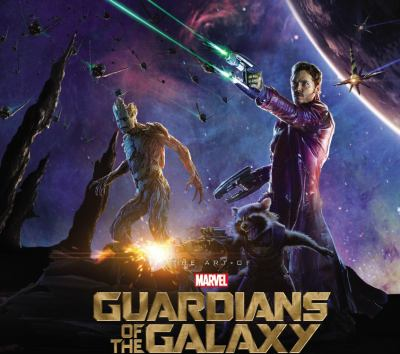 Cover image for The art of Marvel Guardians of the galaxy
