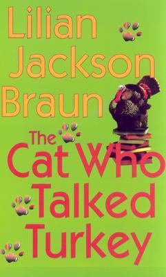 Cover image for The cat who talked turkey