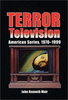 Cover image for Terror television : American series, 1970-1999