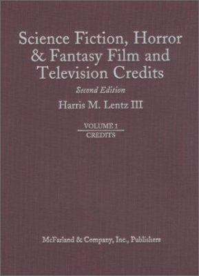 Cover image for Science fiction, horror & fantasy film and television credits