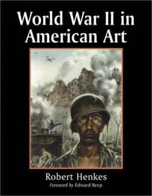 Cover image for World War II in American art