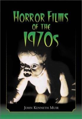 Cover image for Horror films of the 1970s