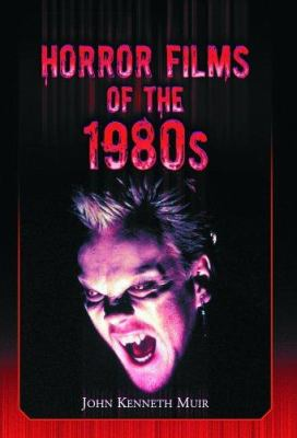 Cover image for Horror films of the 1980s
