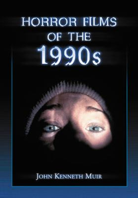 Cover image for Horror films of the 1990s