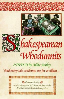 Cover image for Shakespearean whodunnits