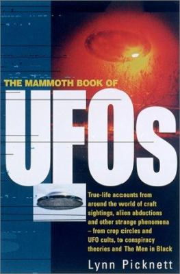Cover image for The mammoth book of UFOs