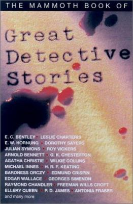 Cover image for The mammoth book of great detective stories