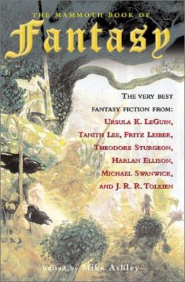 Cover image for The mammoth book of fantasy