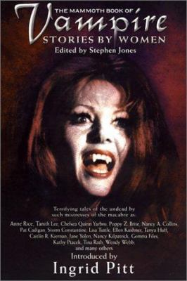 Cover image for The mammoth book of vampire stories by women