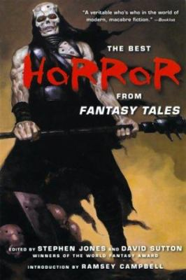 Cover image for The Best horror from Fantasy tales