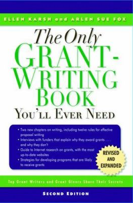 Cover image for The only grant-writing book you'll ever need